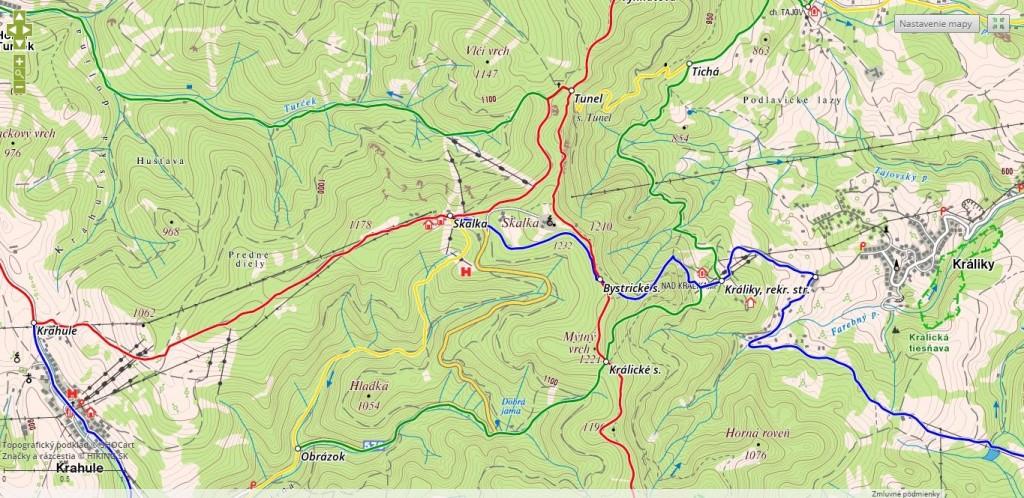 turist. mapa Skalka