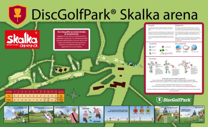 DiscGolfPark-Skalka